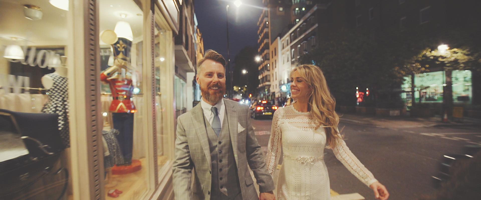 Ryan and Suzanne London Wedding