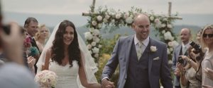 Lucy and Neil at Dewsall Court